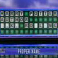 Harry Potter as Wheel of Fortune answer