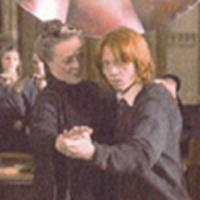 Ron and Prof. McGonagall