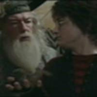 Harry with Dumbledore