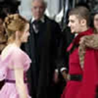 Hermione and Viktor at the Yule Ball