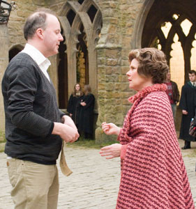 David Yates with Imelda Staunton
