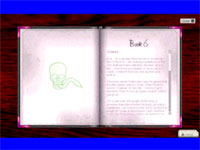 Screenshot from book 6 title hoax video
