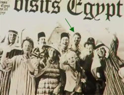 Weasley family portrait in The Daily Prophet