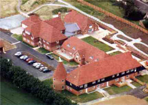 Demelza House from above